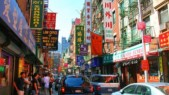 Shops in Chinatown, NY