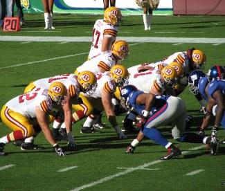 NY Giants vs Redskins