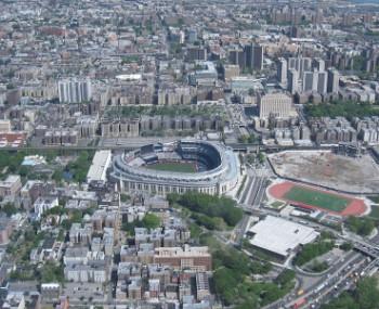 yankee stadium in Bronx